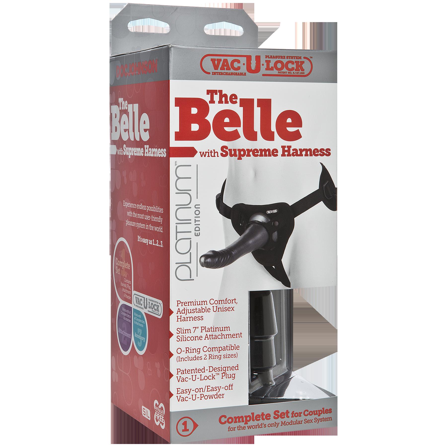 Doc Johnson: Vac-U-Lock™ Platinum Edition - The Belle with Supreme